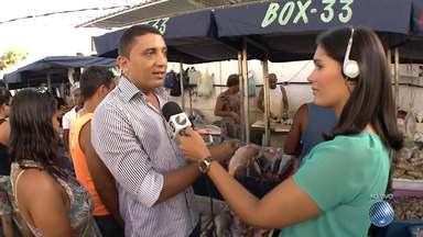 Páscoa: reportagem volta ao mercado para conferir as variações nos preços dos pescados - Confira e programe-se para as compras.