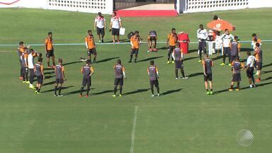 Vitória mantém o foco no Flamengo de Guanambi pelo Baianão - Confira as notícias do rubro-negro baiano.