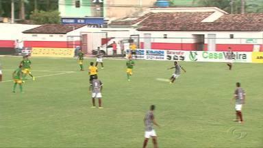 Catanha marca gol e Sete de Setembro vence o CSE - Canarinho bate o tricolor por 3 x 1.