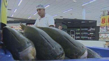 Consumidores aumentam procura nos peixes regionais para o fim da quaresma - Nutricionista dá dicas para consumidores.