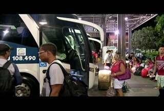 Rodoviárias do interior do Rio ficam movimentadas para o feriado da Páscoa - Ônibus extras foram disponibilizados.