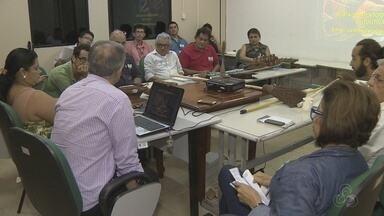 Comitê discute ações para fortalecer produção de piaçava no AM - Fibras são usadas por produtores.