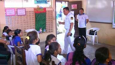 Ascae treina estudantes para situações de emergência nos rios - Evento foi destinado para estudantes das comunidades São Brás e Cucurunã na região do eixo Forte.
