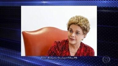 Dilma diz para jornais estrangeiros que impeachment é golpe - A presidente Dilma Rousseff convidou correspondentes de jornais da Europa e Estados Unidos para repetir que o processo de impeachment contra ela na Câmara dos Deputados é um golpe.