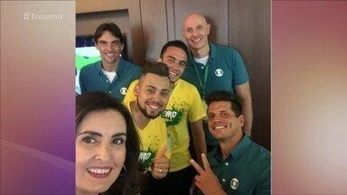 Encontro reúne atletas paralímplicos nos Estúdios Globo - Felipe Andreoli conversa com atletas que vão competir nos Jogos Rio 2016