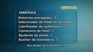 Terça-feira é dia de Coluna Emprego - Vejas as vagas para Maringá e região.
