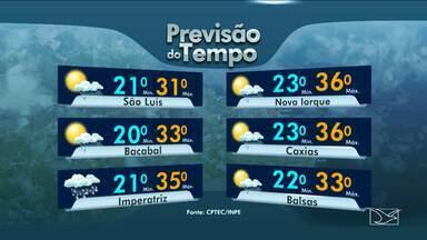Veja como fica a previsão do tempo para esta terça-feira (29), no Maranhão - Veja como fica a previsão do tempo para esta terça-feira (29), no Maranhão.