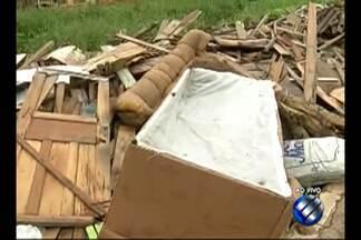 Comunidade denuncia despejo irregular de lixo e entulho em rua no bairro da Sacramenta - A Prefeitura de Belém informou nesta terça-feira (29) que enviará uma equipe para fazer a limpeza no trecho da passagem Malvinas.