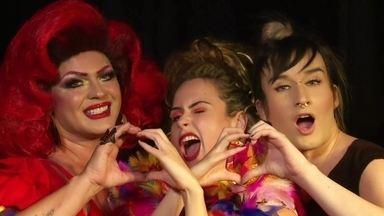 Ana Paula promove encontro entre Serginho e Dicésar - Os dois relembram a amizade na casa, os bafões do BBB10 e transformam Ana Paula em drag queen
