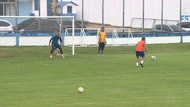 Nacional retoma treinos para enfrentar o Remo - Jogo de volta acontece no dia 06 de abril, em Belém