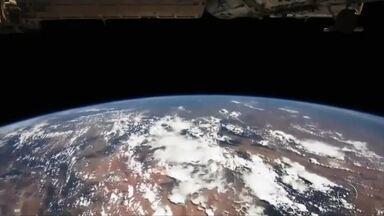Desde criança, Marcos Pontes já demonstrava interesse por estudar o espaço - Desde criança, Marcos Pontes já demonstrava interesse por estudar o espaço. Na reportagem desta terça-feira (29) da série Missão Centenário, a trajetória do primeiro astronauta brasileiro.