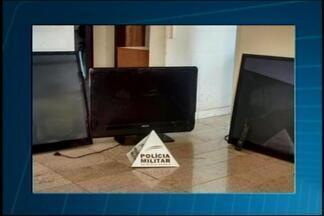Jovem é preso por furtar televisores em postos de saúde em Dores do Indaiá - Unidade de saúde no Bairro São José foi invadida durante madrugada. Suspeito confessou furtos.