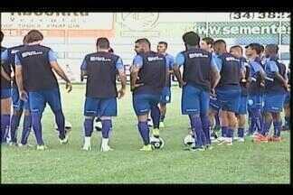 Equipe do URT foca em treinos para enfrentar o time do América - Time busca conquista inédita – terminar a fase do Mineiro em segundo lugar.