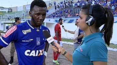 Allano comemora primeiro gol pelo Cruzeiro e agradece a Deivid pela oportunidade - Allano comemora primeiro gol pelo Cruzeiro e agradece a Deivid pela oportunidade