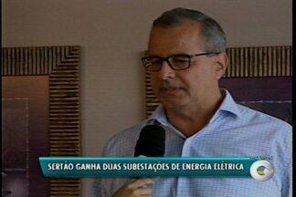 Os municípios de Serrita e Santa Cruz vão ganhar duas subestações de energia elétrica - O anúncio foi feito pela Celpe