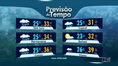 Veja como fica a previsão do tempo para esta sexta-feira (15), no Maranhão - Veja como fica a previsão do tempo para esta sexta-feira (15), no Maranhão.