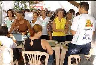 Mutirão conta o Câncer é realizado em Montes Claros - Mutirão é realizado na Praça Dr. Carlos.