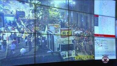 Motoristas devem evitar Esquina Democrática - Protesto em apoio a Dilma Rousseff acontece no centro de Porto Alegre.