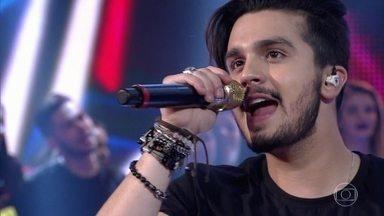 Luan Santana canta 'Cê Topa' e leva a plateia a loucura - Confira a apresentação