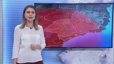 Confira a previsão do tempo para esta quarta-feira (20) na região de Ribeirão - O índice de umidade do ar continua abaixo da média. Os termômetros marcam máxima de 35 graus.
