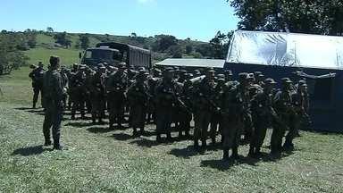 Soldados de Lins se preparam para realizar a segurança dos Jogos Olímpicos - A equipe da TV TEM acompanhou a rotina dos soldados do quartel de Lins (SP). Eles se preparam para realizar a segurança dos Jogos Olímpicos de 2016, no Rio de Janeiro (RJ).