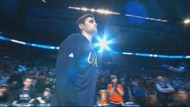 Raulzinho faz grande temporada na NBA e deixa família orgulhosa em Poços de Caldas (MG) - Raulzinho faz grande temporada na NBA e deixa família orgulhosa em Poços de Caldas (MG)