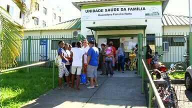 Moradores reclamam das condições de posto de saúde de Volta Redonda, RJ - Quem precisa usar a unidade do bairro Santa Cruz, reclama que atendimento piorou depois que aumentou o número de famílias que vivem no local.