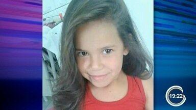 Polícia divulgou imagens que mostram racha que causou acidente matou menina em Pinda - Vítima tinha 7 anos.