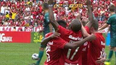 Confira os gols de Inter 3 x 0 São Paulo-RS - Assista ao vídeo.