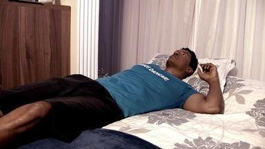 Entenda como funciona a paralisia do sono - O Fantástico mostra o distúrbio que causa a paralisia temporária do corpo ao despertar. Metade da população pode ser afetada pelo menos uma vez na vida.