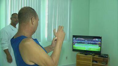 Pacientes usam videogame para fazer fisioterapia virtual em Itajubá (MG) - Pacientes usam videogame para fazer fisioterapia virtual em Itajubá (MG)