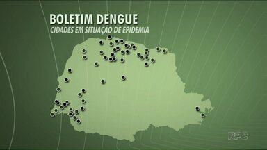Paraná já registra mais de 38 mil casos de dengue - Mais 3 cidades entraram em situação de epidemia, incluindo Maringá.