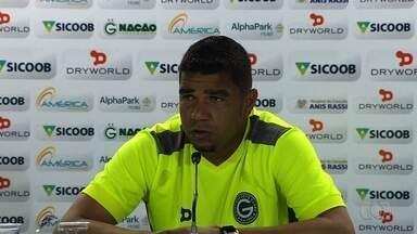 Goiás recebe o River-Pi e tenta avançar com goleiro reserva - Ivan é o substituto de Renan em partida da Copa do Brasil na qual Verdão terá de vencer por 1 a 0 ou dois gols de diferença.