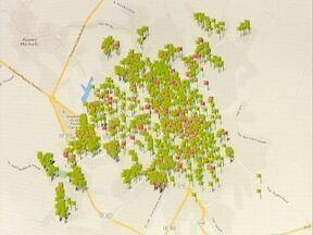 Ferramenta marca imóveis e terrenos que apresentam problemas - Muitas vezes esses locais estão sujos ou abandonados.