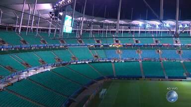 Vitória e Náutico de Roraima se enfrentam nesta quarta (27) na Arena Fonte Nova - O rubro-negro pode até perder por um gol de diferença, que garante vaga na segunda fase da Copa do Brasil.