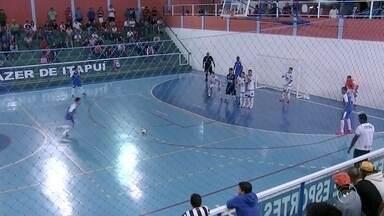 Confira a rodada da Copa TV TEM de futsal - Muitos gols nos jogos de ida das semifinais no masculino e feminino, da Copa TV TEM de futsal. Três times conseguiram a vantagem para a próxima rodada.