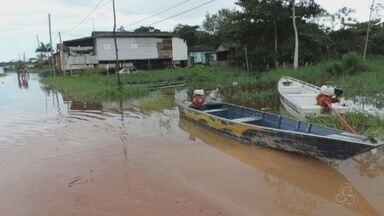 Defesa Civil fica em alerta para cheia do rio em Ferreira Gomes - A Defesa Civil está em estado de alerta por causa da cheia do rio em Ferreira Gomes.