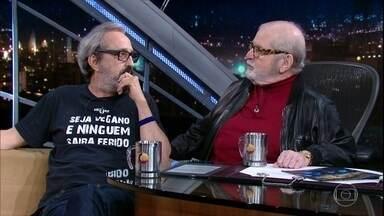 """Ary França fala sobre o espetáculo """"Esperando Godot"""" - Ator bate um papo hilário com Jô Soares"""
