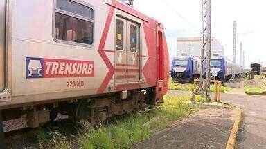 Por causa de infiltração, novas composições do Trensurb precisarão de manutenção - Infiltração de água nos equipamentos foi percebida durante a manutenção preventiva, e a Trensurb solicitou reparo ao consórcio.