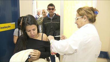 Postos de Saúde abrem para o dia D de vacinação contra a gripe - Em Londrina, devido à baixa quantidade de doses os postos ficam abertos até às 14 horas.