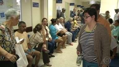 Postos cheios no Rio para vacina contra gripe - 550 postos funcionam até as 5 da tarde