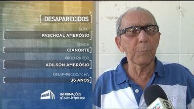 Desaparecidos - Confira o depoimento das pessoas que procuram por parentes desaparecidos