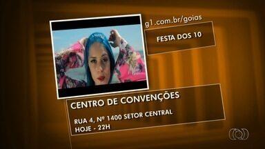Confira a programação cultural para este fim de semana em Goiânia - Entre as principais atrações está o show do cantor Oswaldo Montenegro.