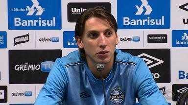 Geromel está de volta ao Grêmio - Assista ao vídeo.