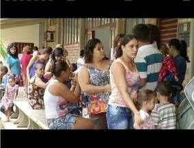 Dia D contra a gripe lota postos de saúde de Ipatinga - Governo Federal quer vacinar 49 milhões de pessoas até o dia 20 de maio.