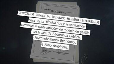 Deputado Robério Negreiros vai passar uma semana na Itália - A Câmara Legislativa vai pagar as passagens e as seis diárias.