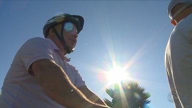 Projeto em Criciúma promete dar aos cegos a sensação de se andar em duas rodas - Projeto em Criciúma promete dar aos cegos a sensação de se andar em duas rodas