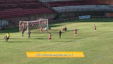 ACP e Cianorte empatam na primeira partida das quartas-de-final - O jogo terminou empatado em 1 a 1. A próxima partida está marcada para o próximo domingo (08) em Cianorte.