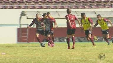 Ferroviária treina para enfrentar o Fluminense na segunda fase da Copa do Brasil - Equipe chega na segunda fase da competição pela primeira vez.
