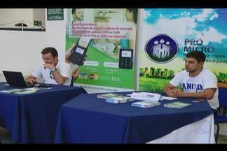 Semana do microempreendedor individual é realizada em Uberlândia - Evento realizado pelo Sebrae ocorre até quarta-feira (4). Objetivo é orientar novos empreendedores.